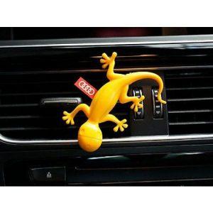 Ambientador gecko amarillo