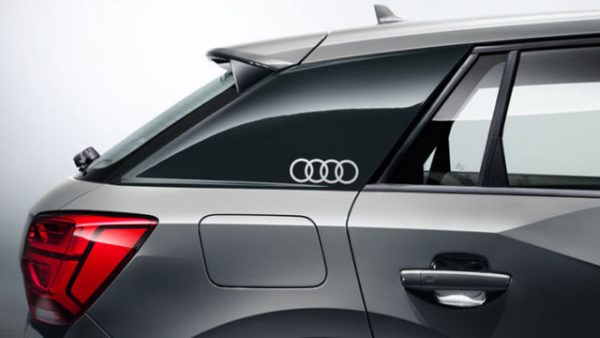 Lámina decorativa anillos Audi