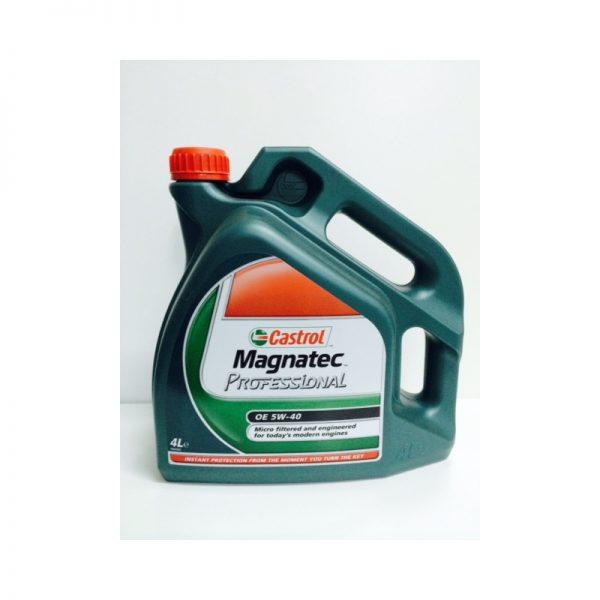 Aceite de motor Castrol Magnatec Professional