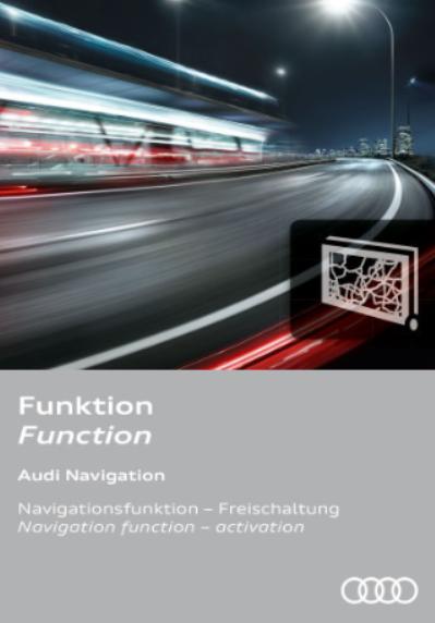 Actualización del navegador Audi