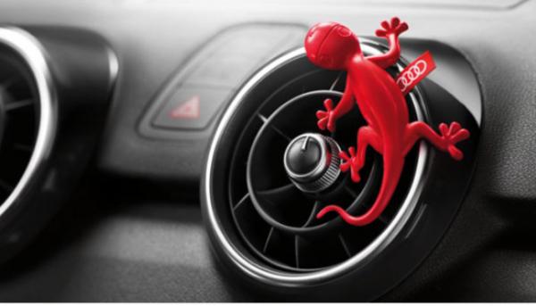 Gecko rojo Audi