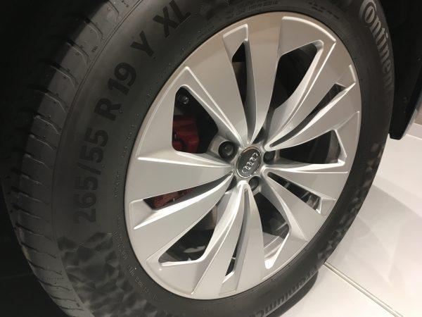 Llanta y neumático para Audi Q8