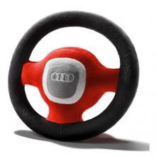 Volante de peluche Audi