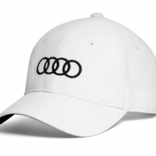 Gorra Audi blanca