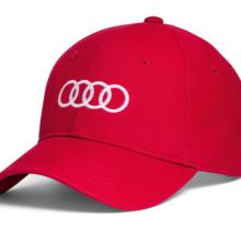 gorra audi roja