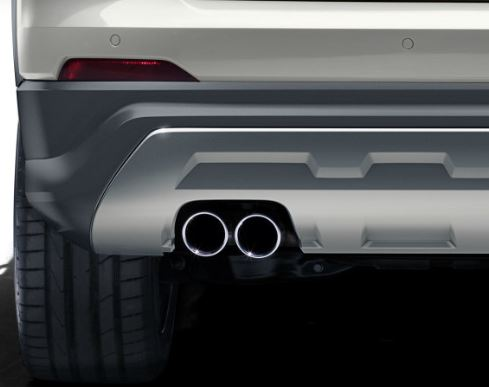 Embellecedores tubo de escape Audi Q2