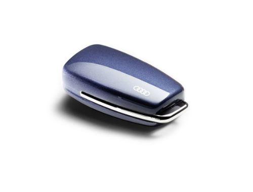 Carcasa para llave con aros Audi 'azul'