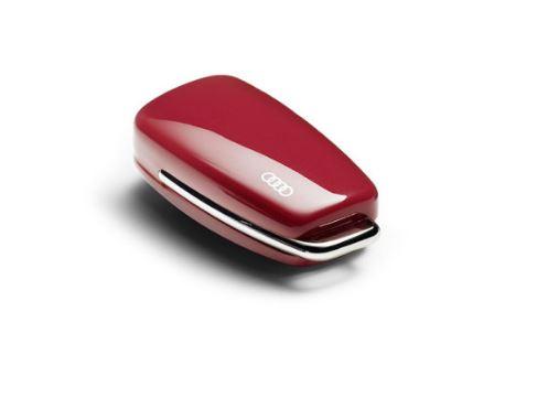 Carcasa para llave con aros Audi 'rojo'