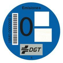Distintivo ambiental DGT 'cero emisiones'